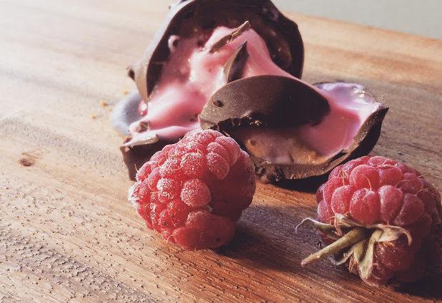 פרלין שוקולד ממולא