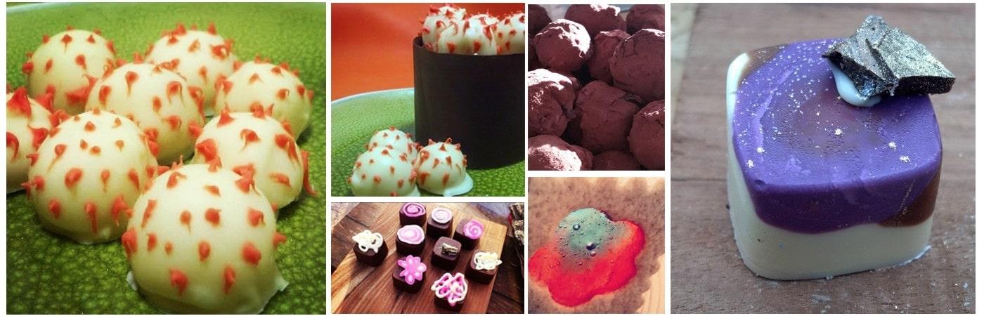 פרלינים וקינוחי שוקולד